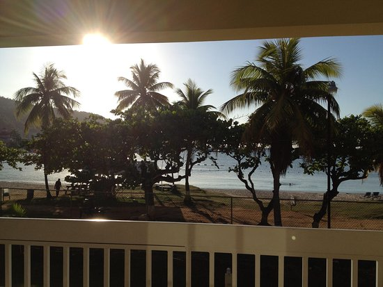 Rooms Ocho Rios: sunset view from our balcony