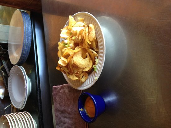 Rooms Ocho Rios: Curley fries at Reggae Ally....nice treat for lunch