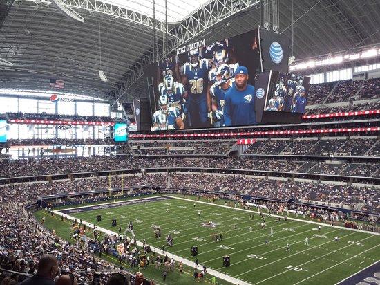 AT&T Stadium: inside
