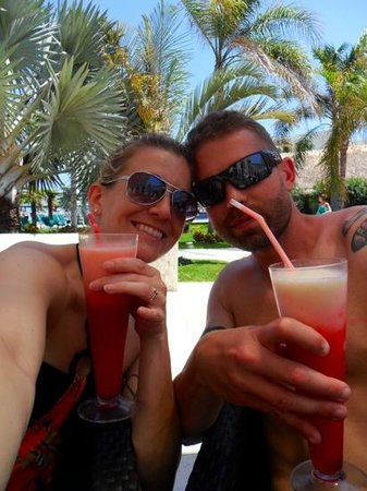 Secrets Silversands Riviera Cancun : yummy drinks