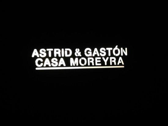 Astrid & Gastón: Logotipo
