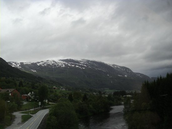 The Flam Railway : view on the way from Bergen to Myrdal