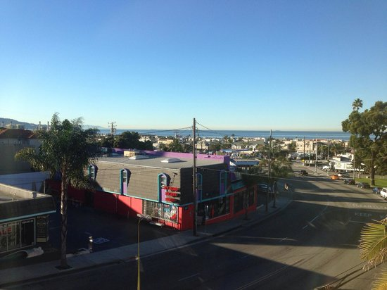 Quality Inn & Suites Hermosa Beach: Blick vom Hotel
