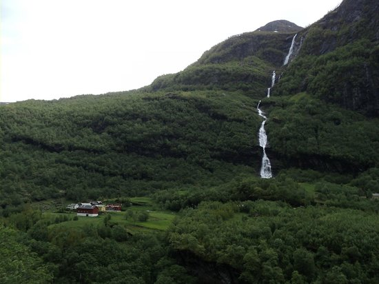 The Flam Railway : view from Flam Railway