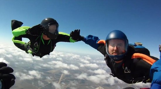 Chicagoland Skydiving Center : 2014 First Load of the Year