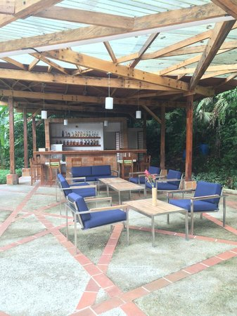 Itamandi EcoLodge : bar and lounge area