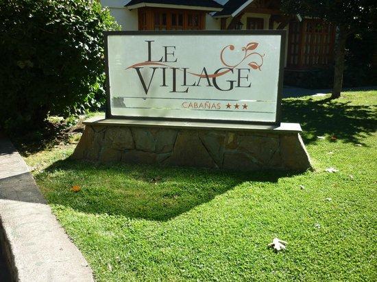 Le Village: frente hotel