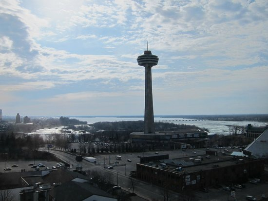DoubleTree Fallsview Resort & Spa by Hilton - Niagara Falls: view from the room, 12th floor