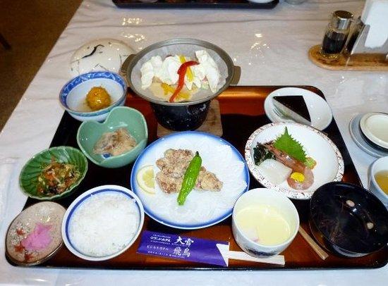 Grand Hotel Daisetsu : 夕食