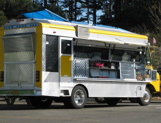 A Taste of Hawaii big yellow food truck