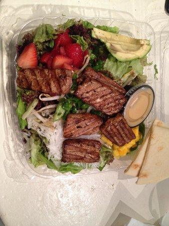 Aloha salads: Real Ono Island Ahi Salad