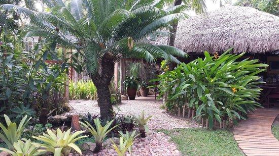 Pousada Berro do Jeguy: Jardim