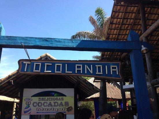 Costa Azul: Tocolândia