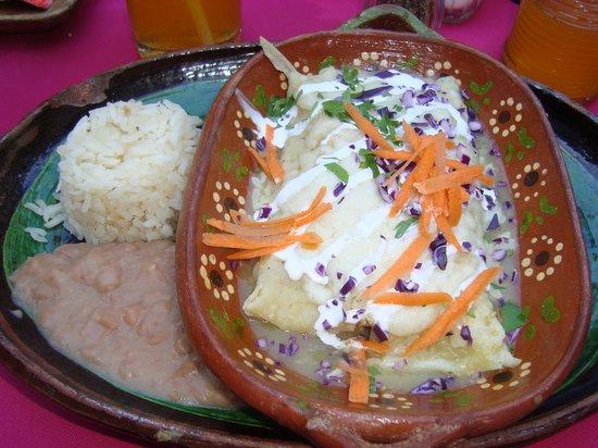 Casa Fantasia: Enchiladas