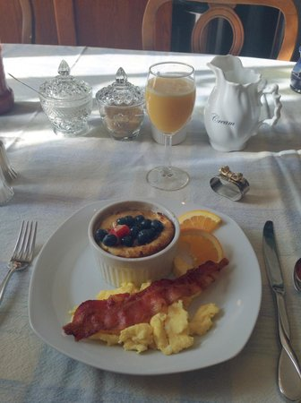 White Oak Manor Bed and Breakfast : Dave is a wonderful cook!