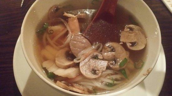 Kumo Japanese Steakhouse : Seafood Soup