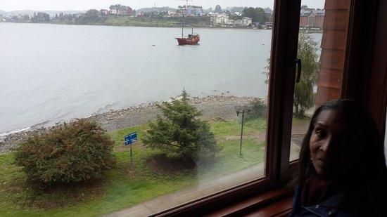 Cabaña del Lago Hotel: Vista desde la habitaciòn