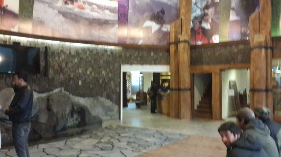 Cabaña del Lago Hotel: Lobby del hotel