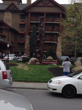 Bearskin Lodge on the River Hotel: Bearskin Lodge