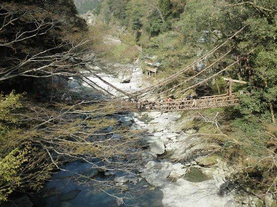 Iya Kazura Bridge: かずら橋