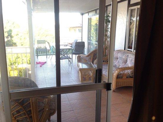 Ainslie Manor: Room#3 Balcony access