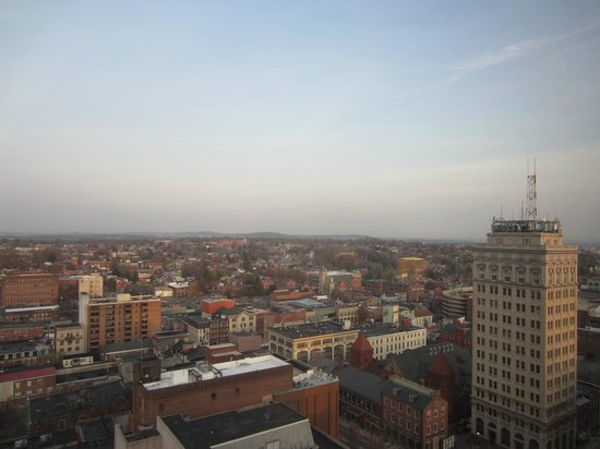 Lancaster Marriott at Penn Square: View from the 18th floor