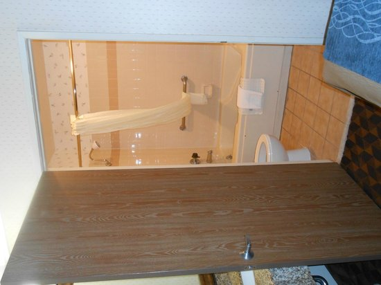 Comfort Inn & Suites LAX Airport: Jacuzzi Tub and toilet