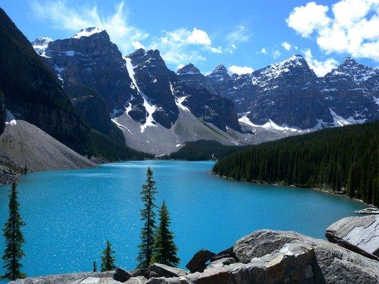 Moraine Lake: モレーン湖