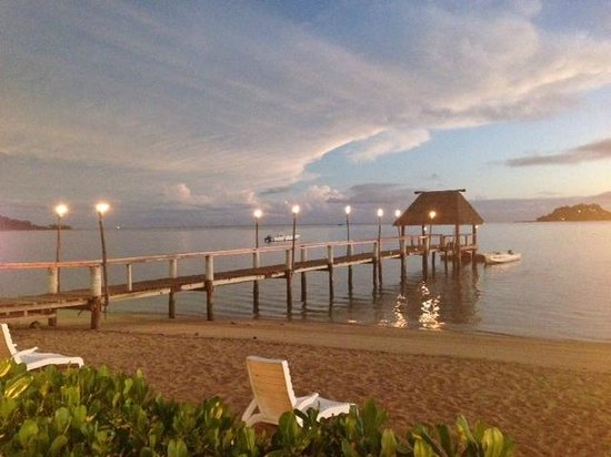 Malolo Island Resort: View from the Beach Bar