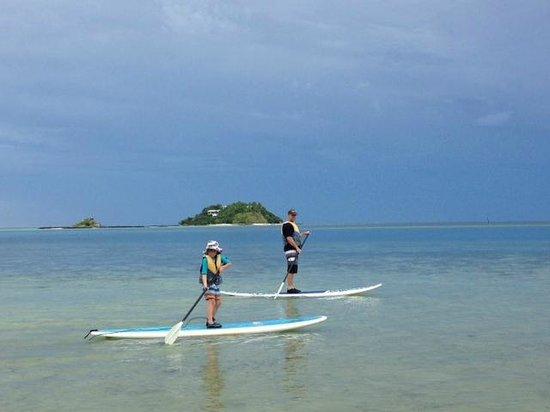 Malolo Island Resort: Paddle Boarding