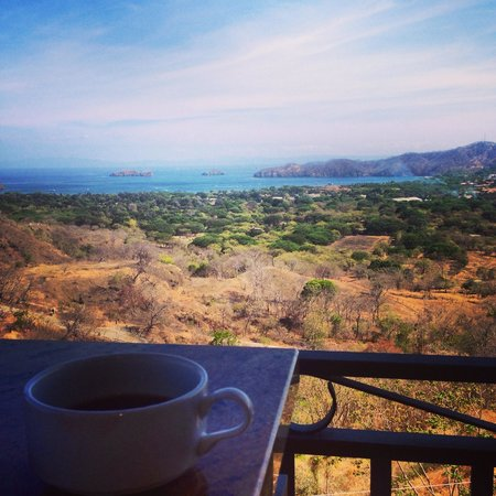 Hotel Chantel: View from breakfast
