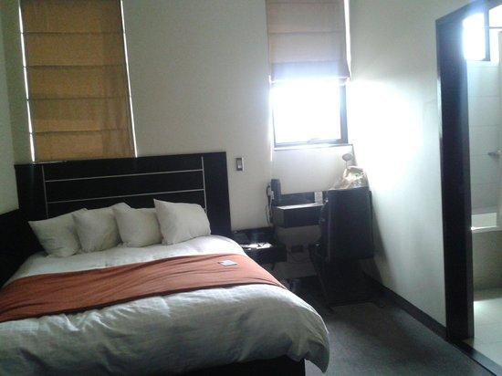 qp Hotels Arequipa: Deluxe suite, muy comoda y con todo lo que necesites, excelente atencion en el hotel, pequeños d