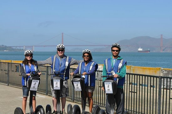Electric Tour Company Segway Tours: On Advanced Segway tour- April 2014