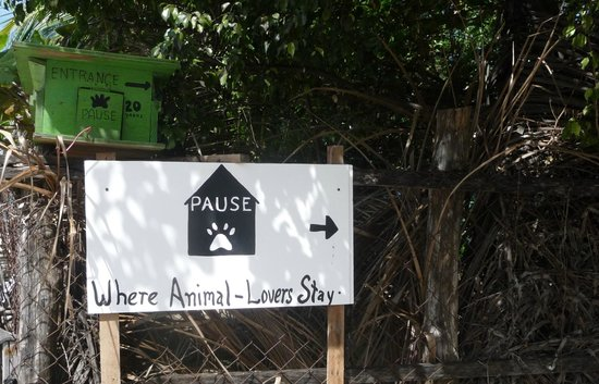 PAUSE Hostel : Sign