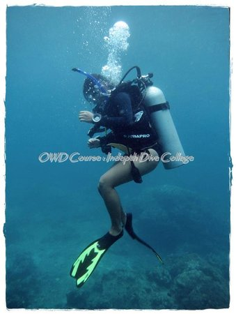 Indepth Dive College: AOW in Similans