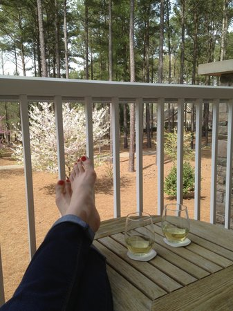 The Ritz-Carlton Reynolds, Lake Oconee: Patio view