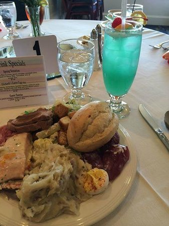 Ehrhardt's Waterfront Restaurant: Easter Buffet and Spring Cocktail