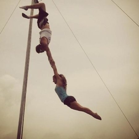 "Aerial Trapeze Academy: The ""Pro's"""