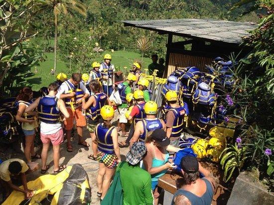 Bali Island Adventure Tours : Wow..getting preparing