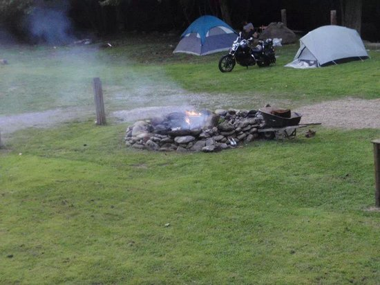 Two Guys and a Pig Almost Famous Bbq: Rustic Camping.All Welcome