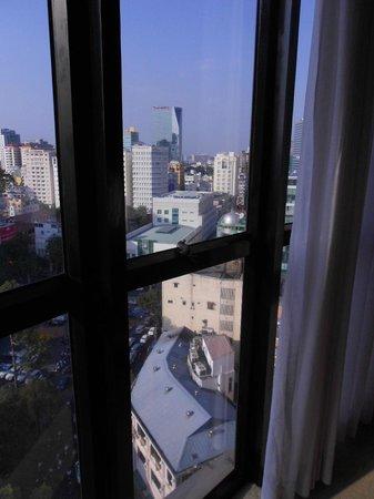 Caravelle Saigon: Again, bad photo but loved the views.