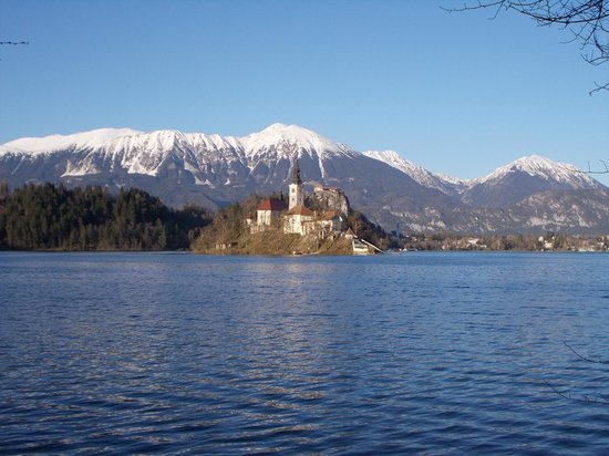 Hotel Astoria Bled: awesome views of Alps
