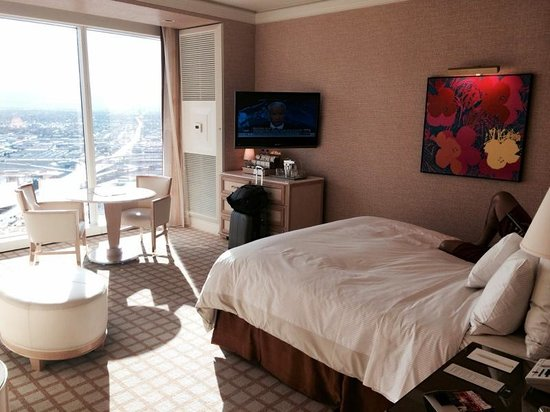 Wynn Las Vegas: View of the room