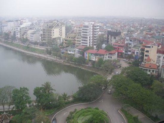 Sheraton Hanoi Hotel : View from the room