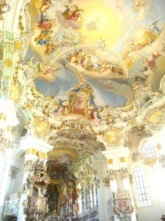 Wieskirche: 内装