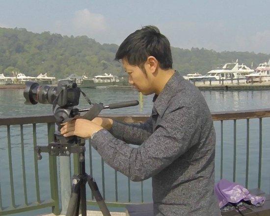 Lealea Garden Hotels-Sun Moon Lake-Moon: taking footage from the ita thao pier near the hotel