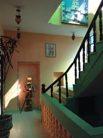 Hotel Moonlight Pushkar : inside