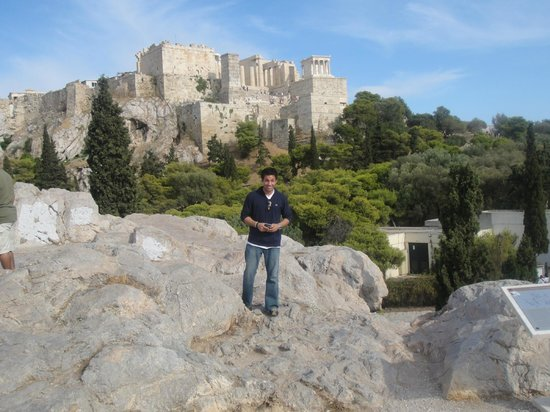 Acropole : Athens' Acropolis.