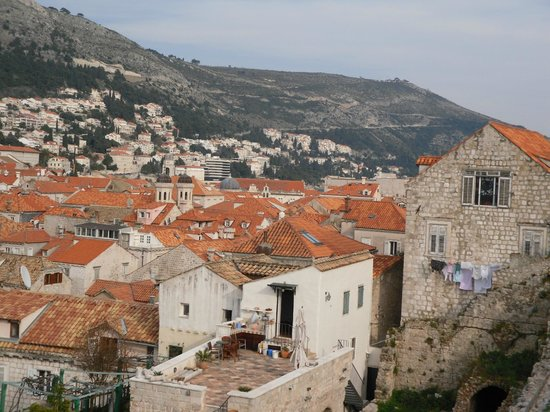 Hilton Imperial Dubrovnik: view of rooftops