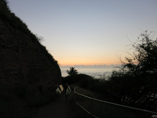 Diamond Head : 早朝